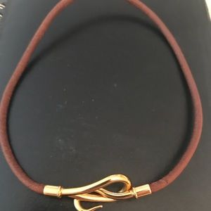 Hermès horsebit necklace
